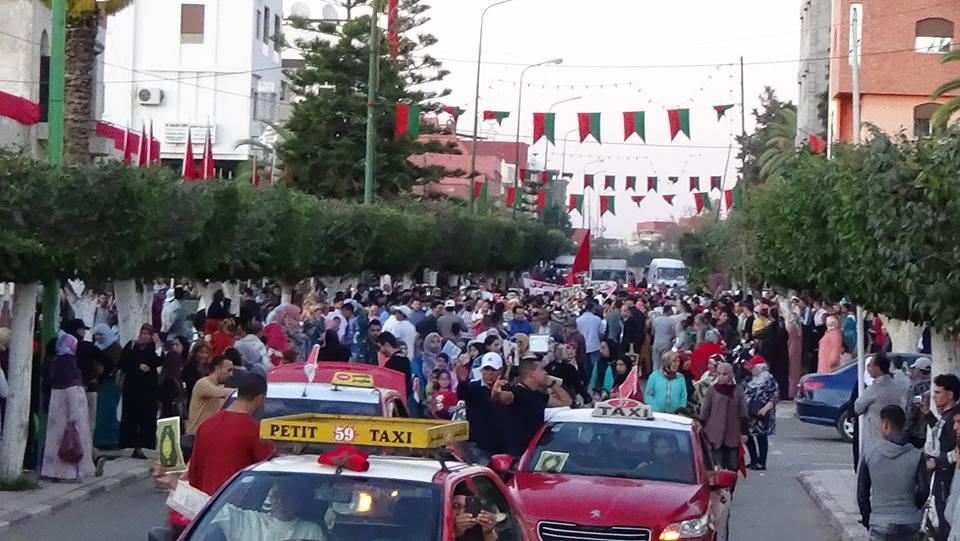 القصر الكبير : أزيد من خمسين جمعية تشارك في مسيرة رمزية تخليدا للذكرى الأربعين للمسيرة الخضراء