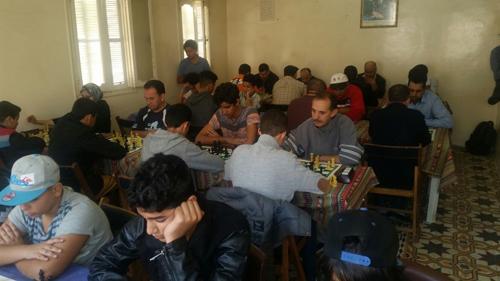 شطرنج : جمعية الفرس العربي تستقبل بريق ألوان فنية لشفشاون