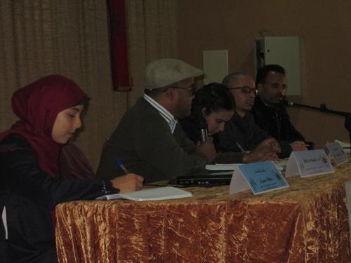 الثانوية التأهيلية المحمدية بالقصر الكبير تحتفي في أمسية باذخة بالأدب المغاربي المكتوب باللغة الفرنسية