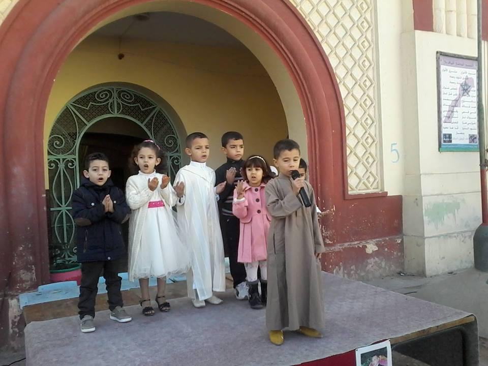 مدرسة التوحيد تتألق في إحياء ذكرى المولد النبوي