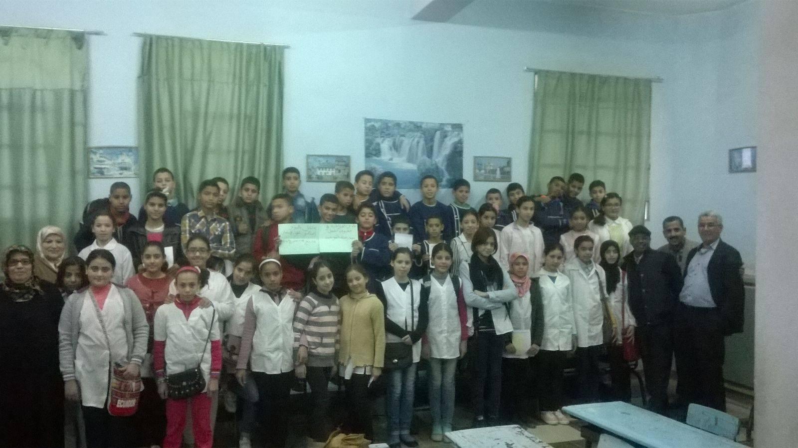 مدرسة التوحيد تحتفل بالطفل