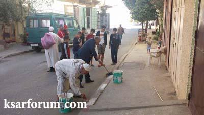 أربع جمعيات تتعاون لرسم الجمال على جزء من حي النهضة…