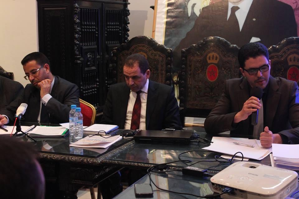 مستشارو العدالة والتنمية بالمجلس البلدي يعقدون ندوة صحفية