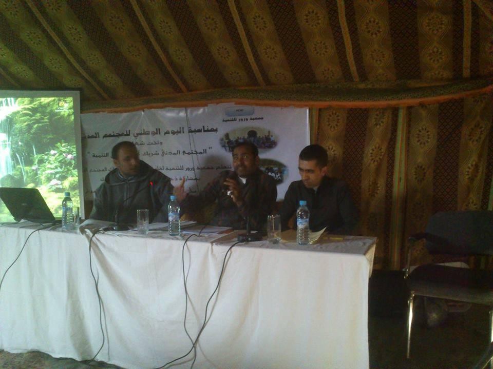 سوق الطلبة : جمعية ورور تحتفي بذكرى المولد المبوي الشريف