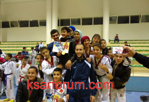 تكواندو: تألق الفرق القصرية في الدوري الخامس للفتيان والفتيات بالقاعة المغطاة