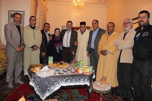 السيمو يقوم بزيارة للأستاذة ثريا الديوري رفقة وفد من المجلس