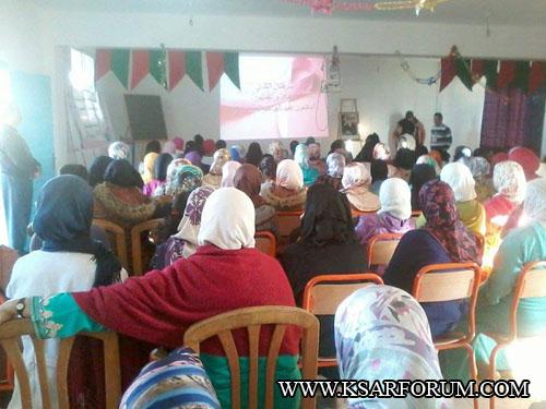 جمعية أمومة تنظم ندوة تحسيسية بالثانوية الاعدادية طارق بن زياد