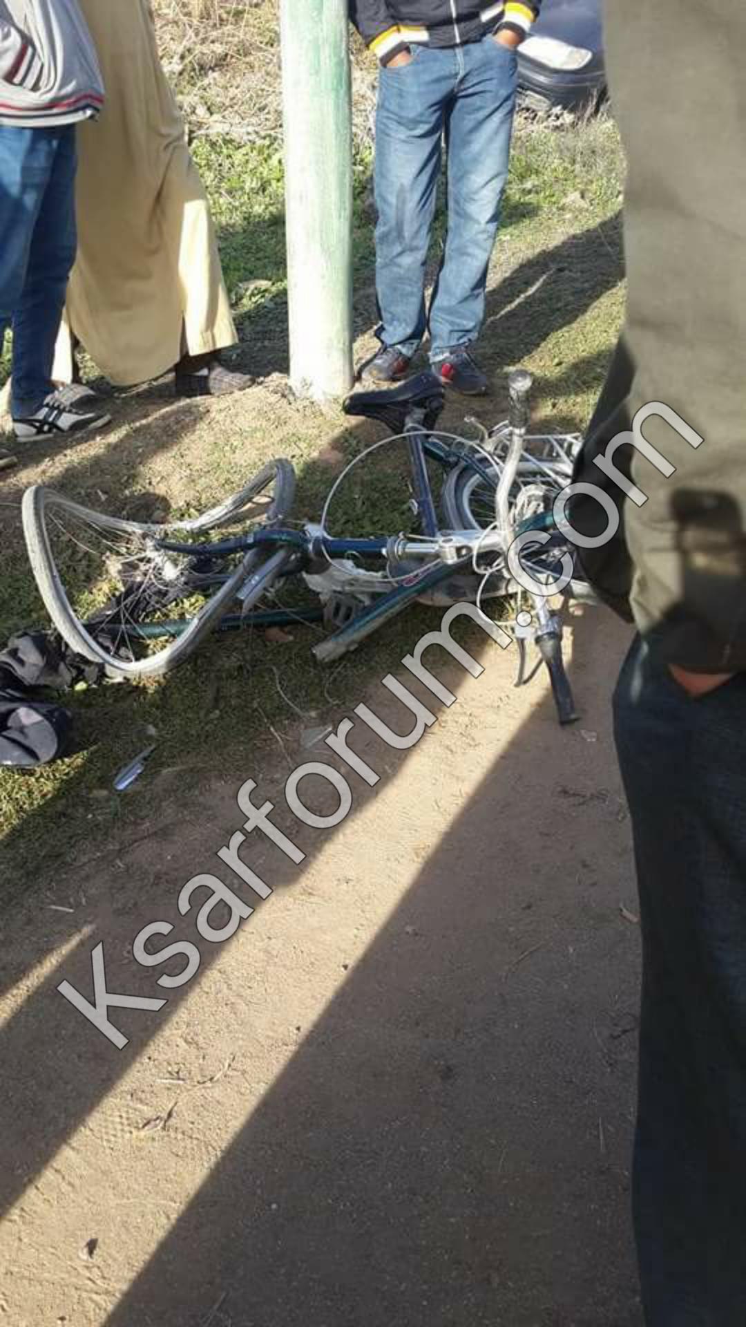 طريق اولاد احميد : حادثة سير مروعة تخلف ثلاث ضحايا و فرار السائق