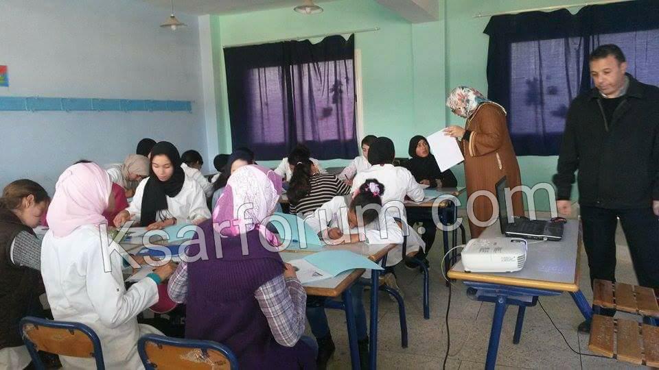 جمعية امومة تفتتح برنامج المثقفات بالنظير من طارق بن زياد الاعدادية