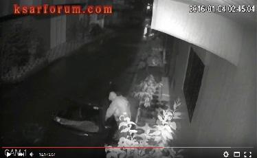 خطير: كاميرا منزلية ترصد محاولة سرقة سيارة بالقصر الكبير