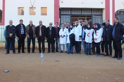 مؤسسة القصر الكبير للتنمية تنظم حملة طبية كبرى لفائدة ساكنة الجماعات القروية التابعة لدائرة اللكوس