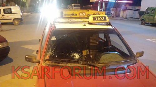 عاجل: عصابة مسلحة تهاجم سيارة أجرة بحي الفرفارة