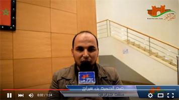 المنشد الجزائري عبد الحميد بن سيراج