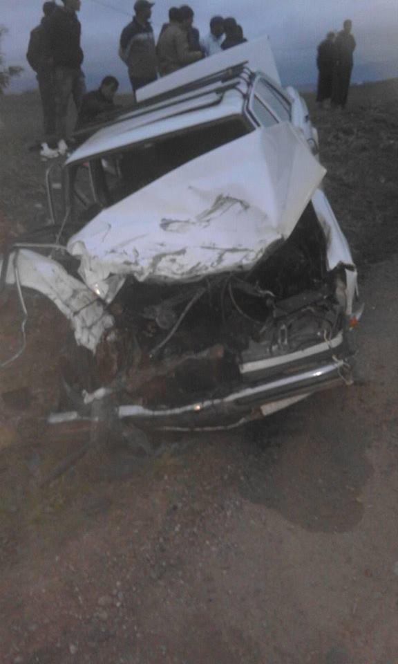 حادثة سير بطريق تطفت تخلف إصابة بليغة و خسائر مادية جسيمة