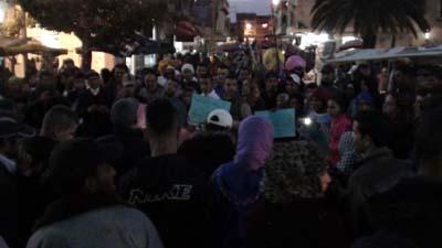 حركة 20 فبراير تحتج على الوضع الصحي بالمدينة