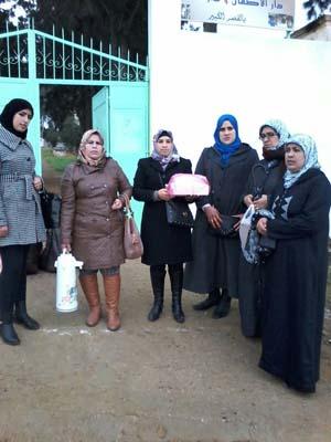 جمعية تنسيم تنظم زيارة لدار رعاية المسنين
