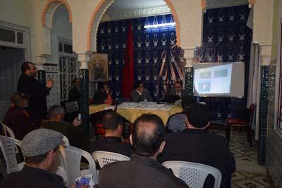 فريق العدالة و التنمية بالمجلس الجماعي المحلي ينظم ندوة صحفية حول دورة فبراير 2016 -الجزء الاول