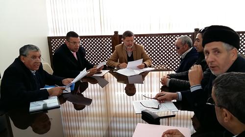 السيمو يجتمع مع ممثلي المنظمة العلوية لرعاية المكفوفين بالمغرب