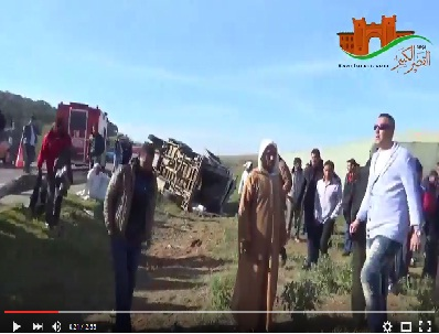 فيديو: ضحايا حوادث السير في مسيرة نداء الوطن