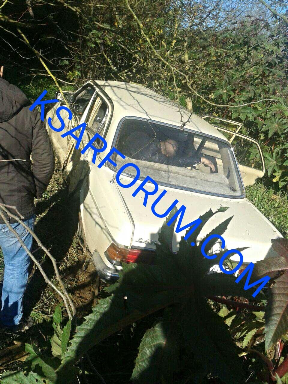 الزوادة: حادثة سير خطيرة بعد انحراف سيارة أجرة عن مسارها