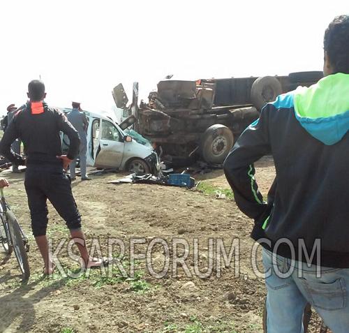 ثلاث قتلى في حادثة سير مروعة بريصانة الجنوبية