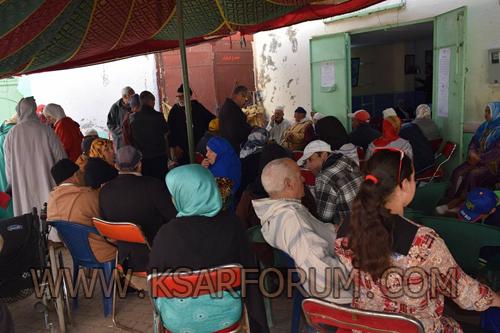 الجمعية الحسنية للتضامن و الأعمال الاجتماعية للمتقاعدين تنظم حملة طبية