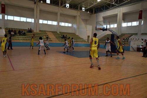 كرة السلة: نادي لكوس يتعثر أمام أولمبيك وزان ب59 مقابل 70
