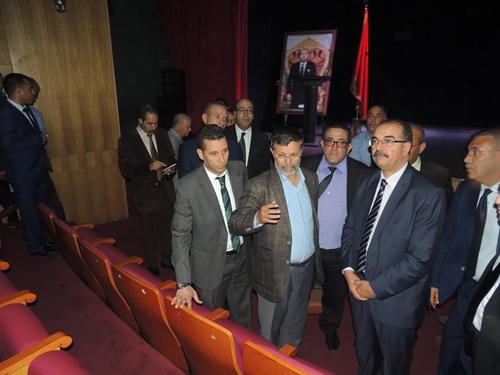 عامل الإقليم يتفقد مشاريع المبادرة الوطنية للتنمية البشرية بالقصر الكبير