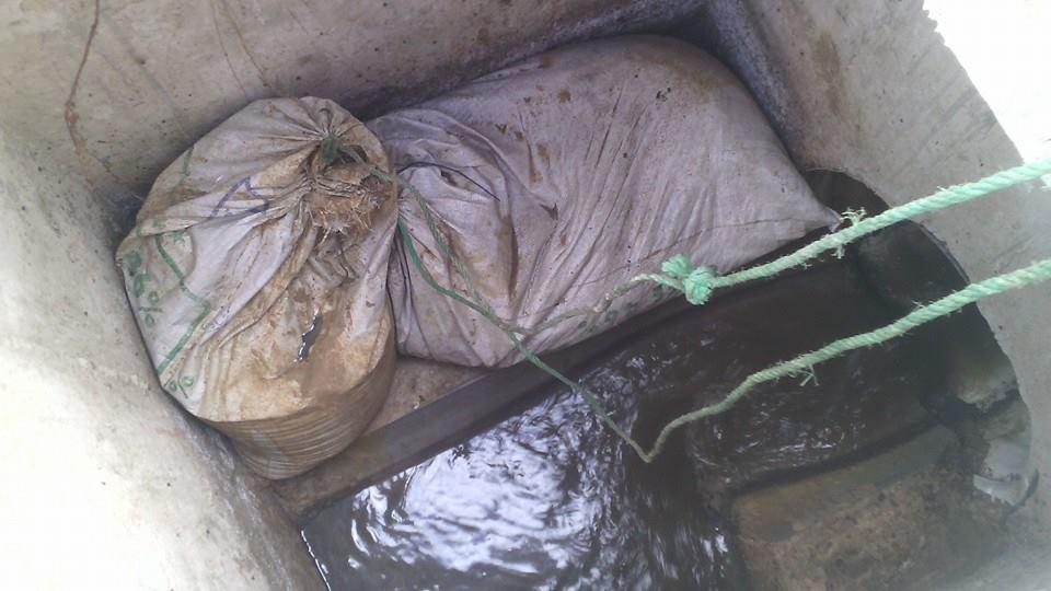 معضلة مياه الصرف الصحي بالعوامرة