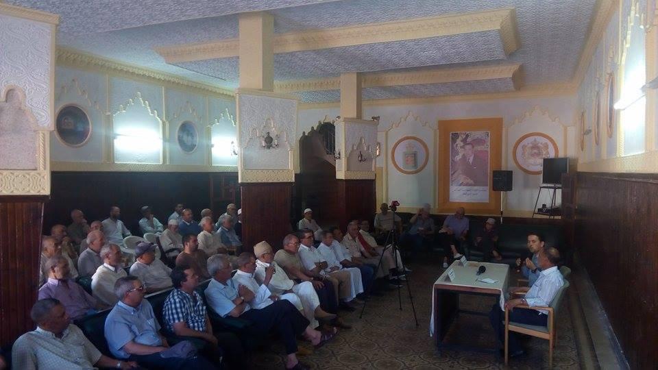 """""""التغذية ورمضان """" موضوع محاضرة من تنظيم جمعية المسنين والمتقاعدين بالقصر الكبير"""