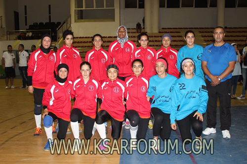 كرة اليد : إناث النادي القصري يتأهلن للدور الثاني من منافسات كأس العرش