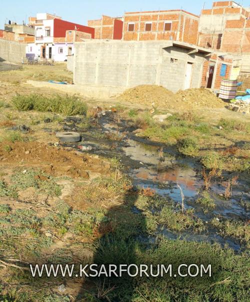أولاد احميد : مواطنون يطالبون بتوفير قنوات الصرف الصحي