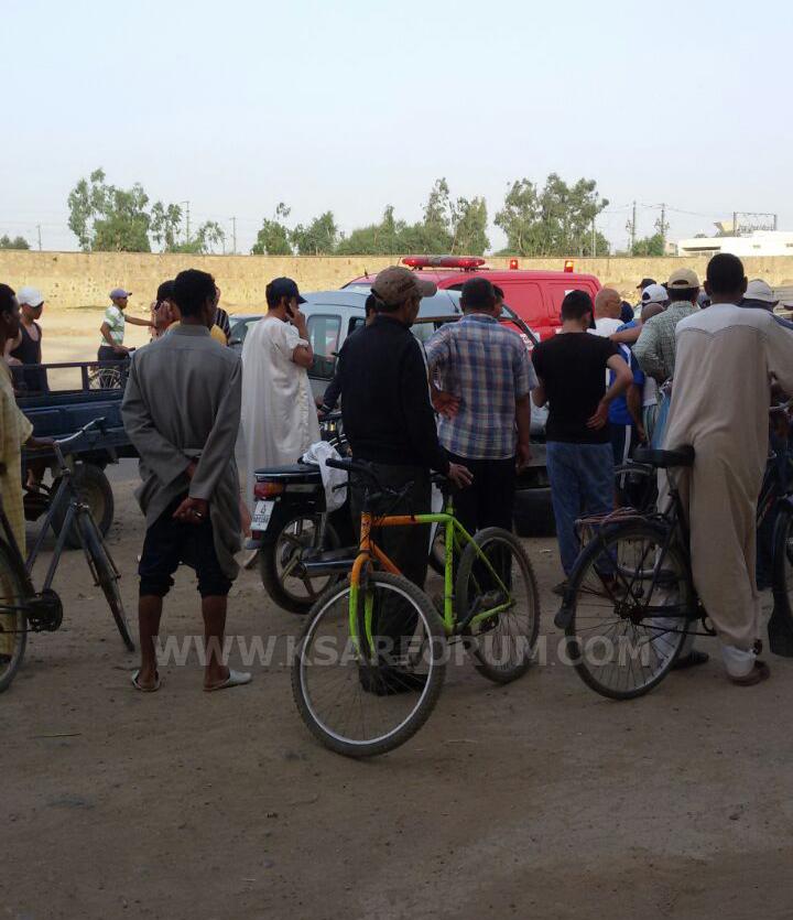 حادثة سير بالقرب من محطة القطار قبيل آذان المغرب تخلف ضحيتين