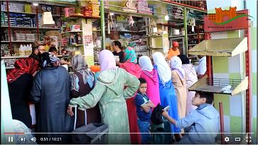 أجواء السوق القصري في رمضان