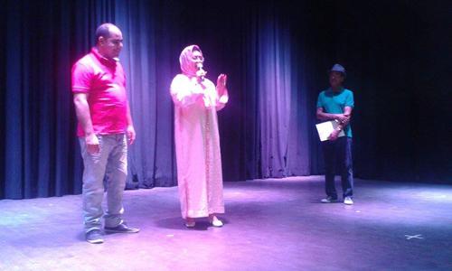 سلسلة القصر الثقافي تسدل ستارها بتكريم المسرحيين عبد الواحد الزفري و أكرم الغرباوي