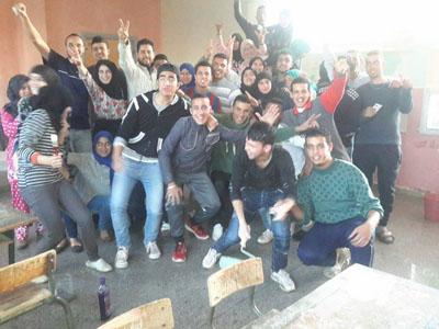 تلاميذ الثانوية المحمدية بالقصر الكبير في إبداع فريد