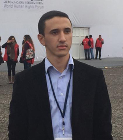 ياسر الرفاعي رئيسا للهيئة الاستشارية للشباب بمنظمة العفو الدولية