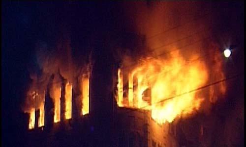 عاجل: حريق يتجزئة المزوري يخلف وفاة سيدة و انقاذ أطفالها الثلاثة