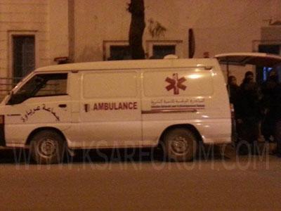 عرباوة : حادث سير يخلف إصابة شخص و نفوق دابة
