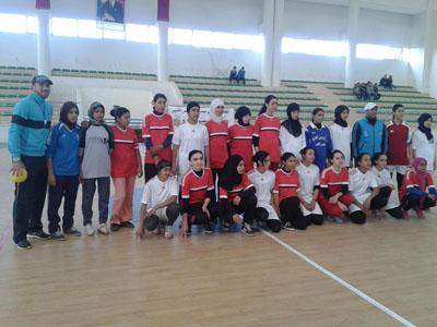 حصيلة اليوم من البطولة الإقليمية للألعاب الجماعية المدرسية صنف كرة اليد إناث