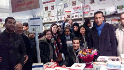 """الغرافي يوقع كتاب """"البلاغة والإيديولوجيا"""" بالمعرض الدولي للكتاب الدار البيضاء"""