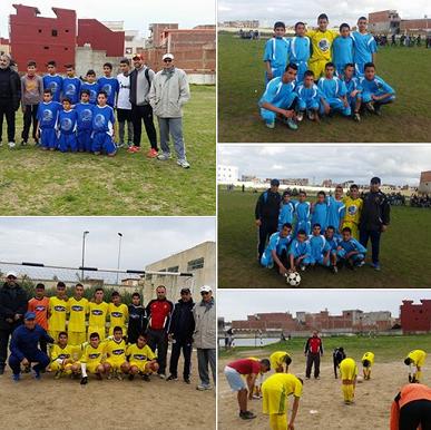 البطولة المحلية للرياضات الجماعية كرة القدم محور القصر الكبير