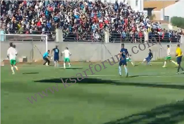 ديربي اللوكوس: النادي الرياضي القصري ينهزم بثلاثية ضد شباب العرائش