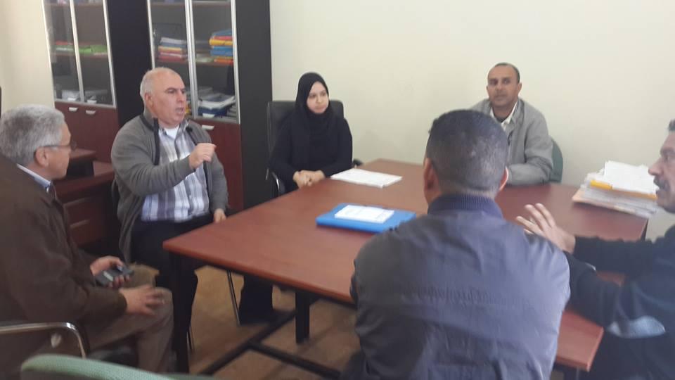 المكتب النقابي لسيارات الأجرة الصنف الأول بقيادة سوق الطلبة في لقاء مع مسؤولي وزارة التجهيز بالعرائش