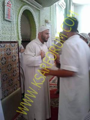 القصر الكبير: إسلام بطل عالمي في الملاكمة من ألمانيا بالمسجد المحمدي ـ فيديو ـ