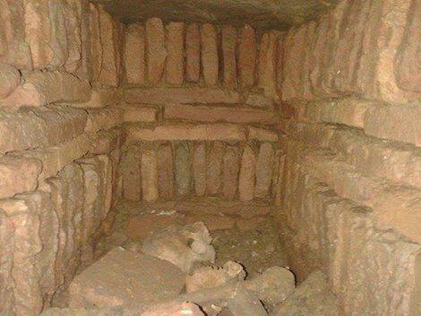 رأي حول اكتشاف مقبرة المعسكر القديم