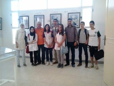 تلاميذ ثانوية أبي المحاسن في زيارة ميدانية لمتحف المقاومة و جيش التحرير بمدينة القصر الكبير