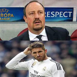 من يحكم ريال مدريد ومن يدربه