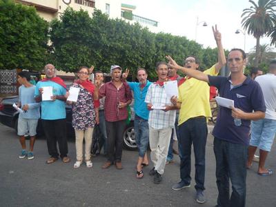 القصر الكبير: جمعية آطاك تخرج للشارع من أجل الدعوة لمقاطعة الانخابات