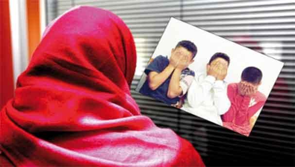 امرأة تتعرض للاغتصاب صحبة ابنتها أمام أطفالها الستة